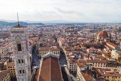 Campanile di Giotto de Florencia imagenes de archivo