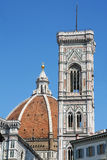 Campanile di Giotto and Duomo di Firenze, italy Royalty Free Stock Photography