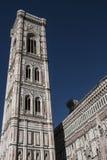 Campanile di Giotto, a Firenze, l'Italia Immagini Stock Libere da Diritti