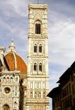 Campanile di Giotto - I -佛罗伦萨-意大利 库存照片