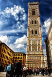 Campanile di Giottos (Firenze - Italia - Europa) Fotografia Stock Libera da Diritti