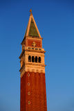 Campanile di San Marco - bell tower on Piazza San Marco - central square in Venice, Italy Stock Image