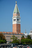 Campanile di San Marco tower in Venice, Italy Royalty Free Stock Photos