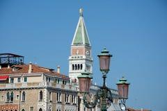 Campanile di San Marco tower in Venice. Stock Photos