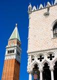 Campanile di San Marco a Venezia Fotografie Stock Libere da Diritti