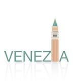 CAMPANILE DI SAN MARCO, Venezia διανυσματική απεικόνιση