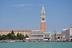 Campanile di San Marco, Venezia, Italia Fotografia Stock Libera da Diritti