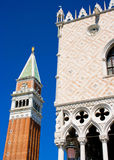 Campanile di San Marco in Venice. Famous Campanile di San Marco in Venice, Italy royalty free stock photos