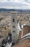 Campanile door Giotto in Florence, Italië Royalty-vrije Stock Afbeelding