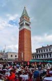 Campanile du ` s de St Mark, Venise, Italie photographie stock