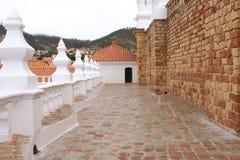 Campanile e kupola di San Felipe Neri Monastery a Sucre, Bolivia immagine stock