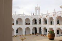 Campanile e kupola di San Felipe Neri Monastery a Sucre, Bolivia fotografia stock