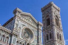 Campanile et Duomo - Florence - Italie photos libres de droits