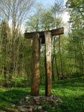 Campanile in foresta Fotografia Stock