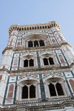Campanile of Giotto. Details on a cathedral in Florence Italy Campanile of Giotto Stock Images