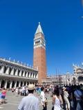 Campanile i Venedig Royaltyfri Fotografi