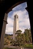 Campanile Klokketoren bij UC Berkeley Royalty-vrije Stock Fotografie
