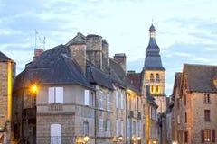 Campanile in La Caneda di Sarlat in Francia Immagine Stock
