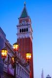 campanile mark s st Στοκ εικόνες με δικαίωμα ελεύθερης χρήσης