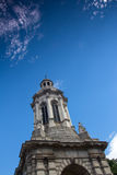 Campanile monument, Drievuldigheidsuniversiteit Dublin stock afbeelding