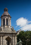 Campanile monument, Trinity college Dublin Royalty Free Stock Images