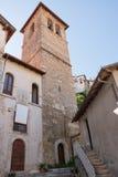 Campanile nel centro di Tagliacozzo & di x28; Italy& x29; Immagini Stock