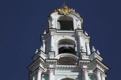 Campanile nell'abbazia di sergei di Sam, Federazione Russa Fotografie Stock Libere da Diritti