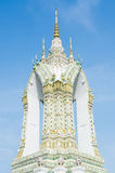 Campanile nell'area di Wat Pho Fotografia Stock Libera da Diritti