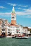Campanile on Piazza di San Marco Stock Photography