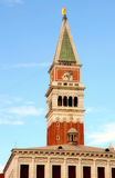 Campanile from Piazza San Marco (St Mark's Square), Venice, Ital Stock Photography