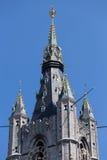 Campanile - posto di guardia - Gand Belfort & x28; Belfry& x29; immagine stock