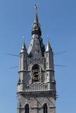 Campanile - posto di guardia - Gand Belfort & x28; Belfry& x29; fotografie stock libere da diritti