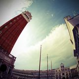 Campanile of Saint Mark in Venice Royalty Free Stock Photo