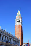 Campanile on San Marco Royalty Free Stock Photos