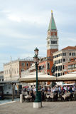 Campanile of San Marco in Venice - Italy. Stock Images