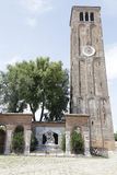 Campanile of Santa Maria and San Donato church, Murano island, V Royalty Free Stock Photography