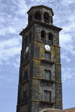 Campanile of Santo Domingo de Guzman church, La Laguna, Tenerife Royalty Free Stock Image