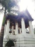 Campanile in Tailandia immagine stock