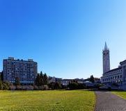 Campanile tower. In Berkeley, Сalifornia Stock Image
