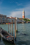 Campanile tower at Piazza San Marco, Venice, Italy Royalty Free Stock Images