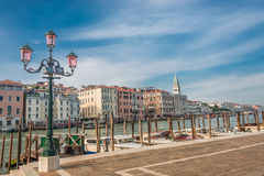 Campanile tower at Piazza San Marco, Venice, Italy Stock Photos