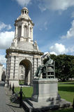 Campanile, Trinity College, Dublin Stock Images
