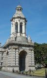 Campanile, Trinity College, Dublin Stock Images