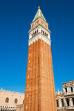 Campanile in Venice Stock Photography