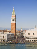 Campanile in Venice Royalty Free Stock Images