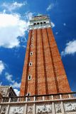 The Campanile of Venice Stock Image