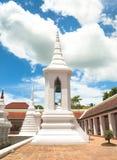 Campanile at Wat Phra Borommathat Chaiya Stock Photos