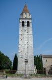 Campanilla della cattedrale, Aquileia, Italia immagini stock libere da diritti