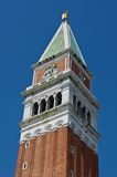 Campanilla, Veneza imagem de stock