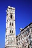 Campanille του καθεδρικού ναού Παναγία del Fiore Στοκ Φωτογραφίες